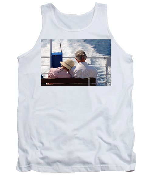 Together In Greece Tank Top