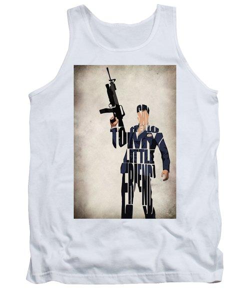 Tony Montana - Al Pacino Tank Top