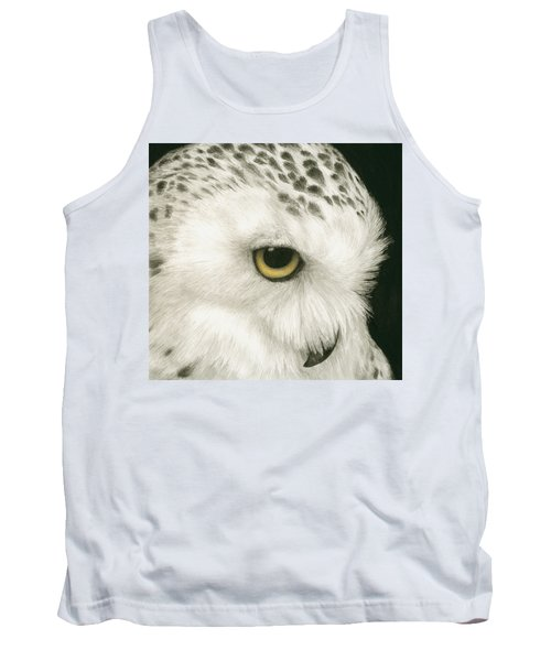 Topaz In The Snow Tank Top by Pat Erickson
