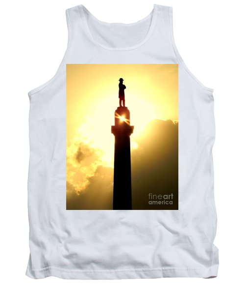 General Robert E. Lee And The Summer Solstice In New Orleans Tank Top by Michael Hoard