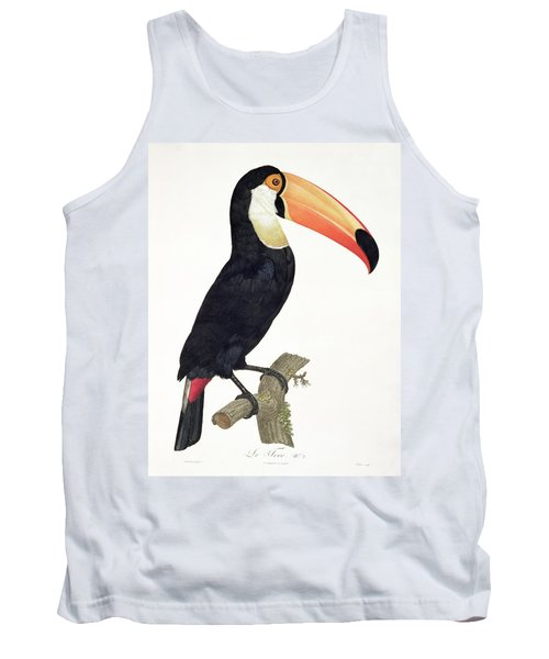 Toucan Tank Top by Jacques Barraband