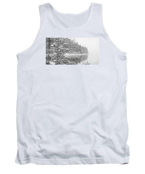 Touch Of Winter Tank Top by Diane Bohna