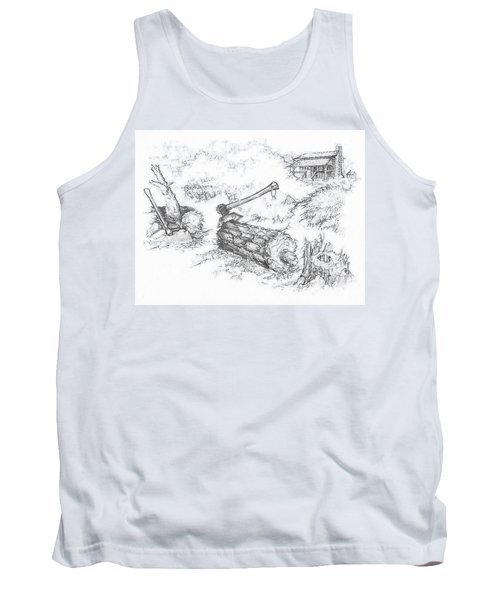 Trail Divides Tank Top by Scott and Dixie Wiley