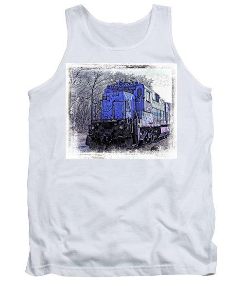 Train Series Tank Top by Marcia Lee Jones