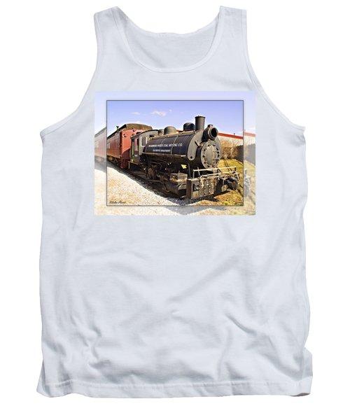 Train Tank Top by Walter Herrit