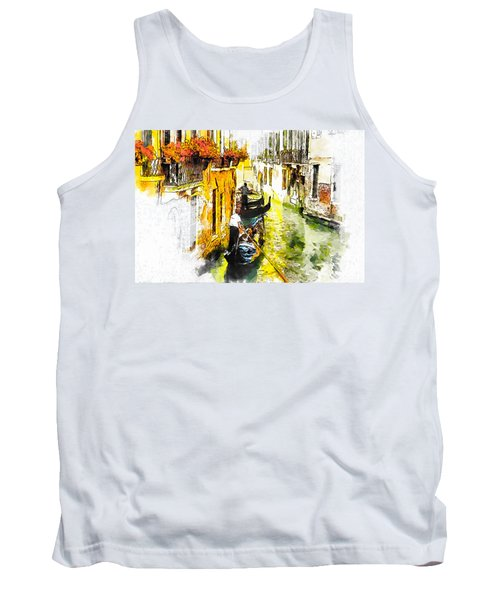 Tranquillity Tank Top by Greg Collins