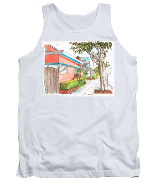 Tree In Laguna Riviera Hotel In Laguna Beach - California Tank Top