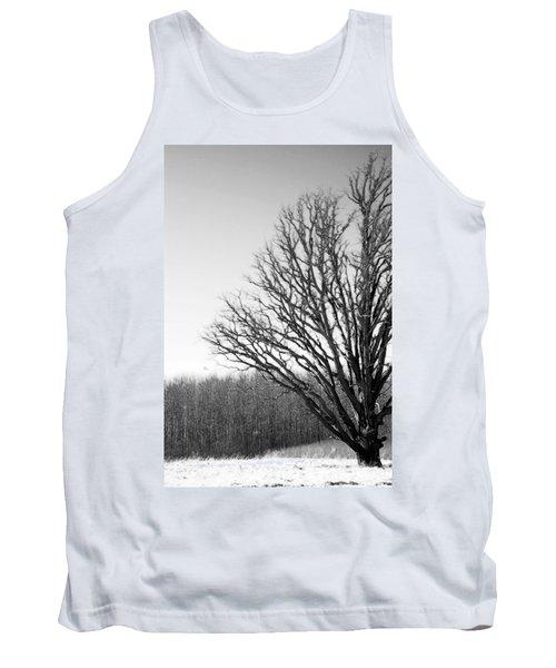 Tree In Winter 2 Tank Top