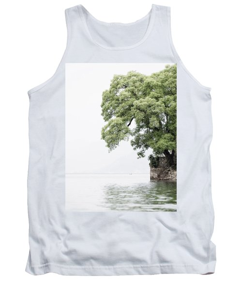 Tree Next To A Lake Tank Top