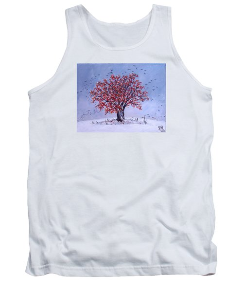 Tree Of Life Tank Top by Nina Mitkova