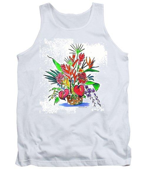 Tropical Basket Tank Top