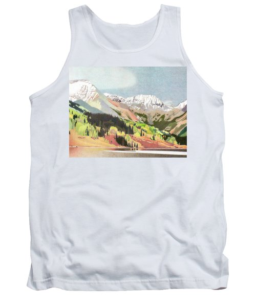 Trout Lake Colorado Tank Top