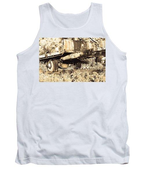 Truck Wreckage II Tank Top