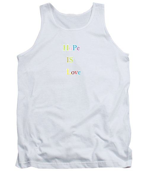 Tank Top featuring the painting True Meaning by Aaron Martens