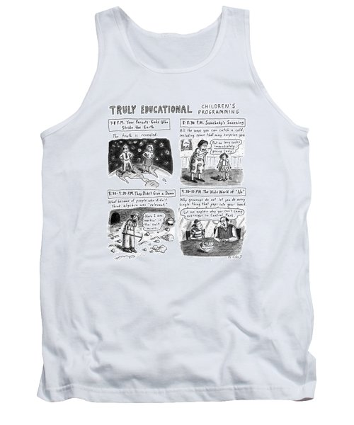 Truly Educational Children's Programming Tank Top