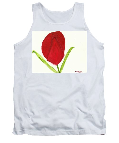 Tulip Of The Heart Tank Top
