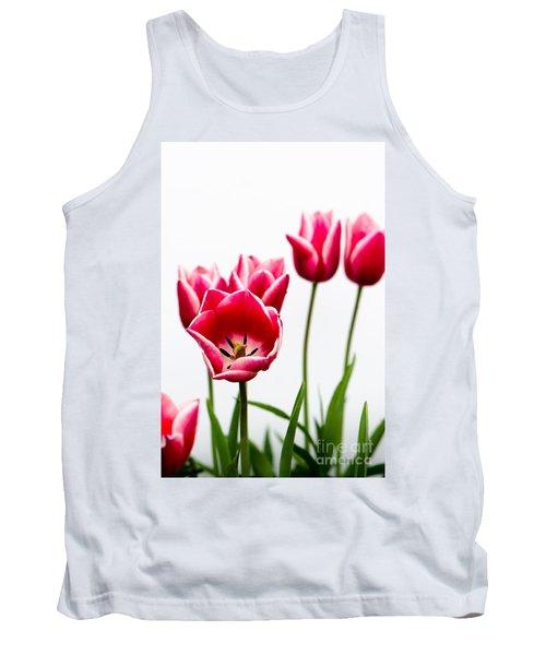 Tulips Say Hello Tank Top