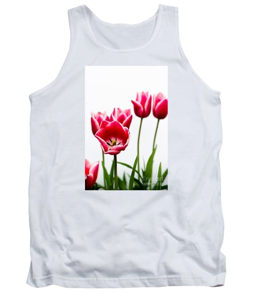 Tulips Say Hello Tank Top