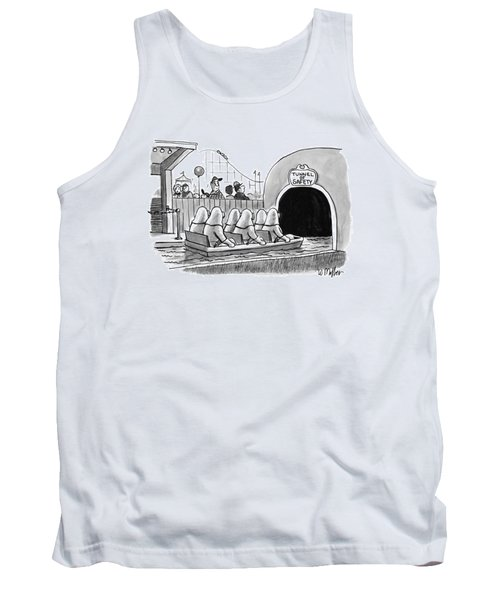 Tunnel Of Safety Tank Top