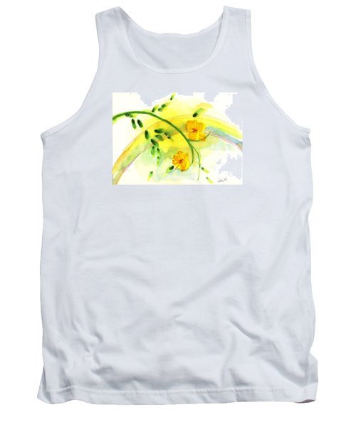 Tank Top featuring the painting 'twas By Grace by Holly Carmichael