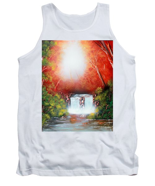 Twin Falls  Tank Top by Greg Moores