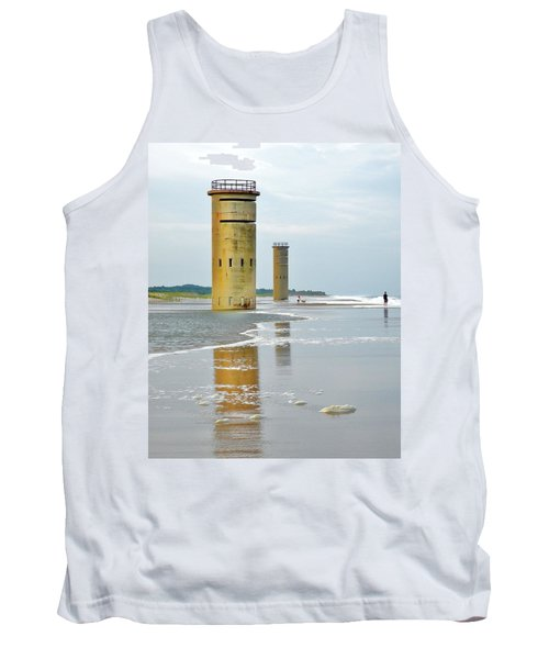 Twin Towers At Whiskey Beach Tank Top