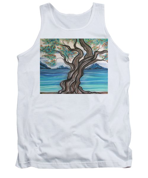 Twisted Tree Tank Top