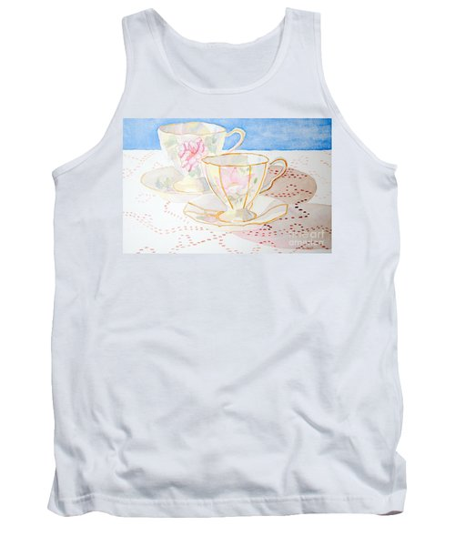 Two For Tea Tank Top by Laurel Best