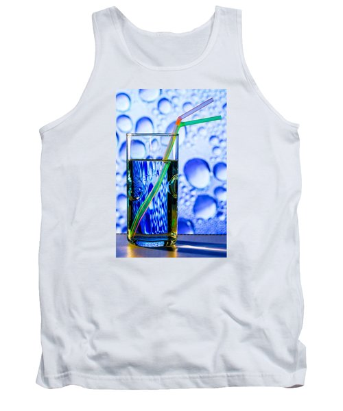 Two In Bubbles Tank Top by Edgar Laureano