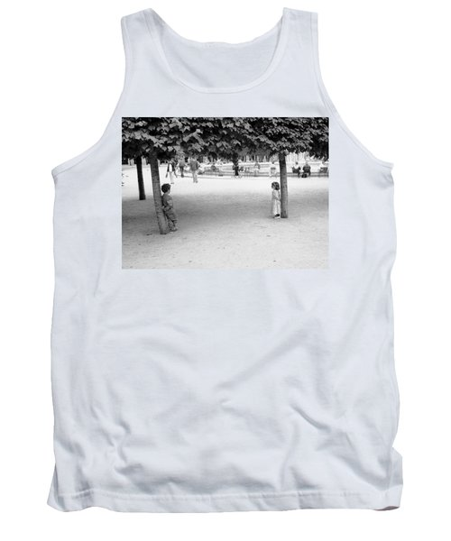 Two Kids In Paris Tank Top