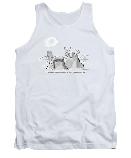 Two Lizards In The Desert Converse Tank Top