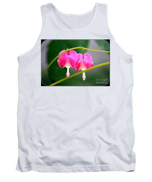 Two Of Hearts Tank Top by Patti Whitten