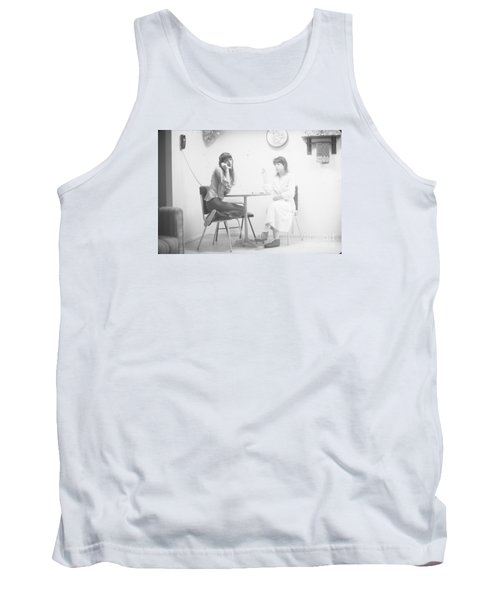 Tank Top featuring the photograph Two Sisters Project 12 by Steven Macanka