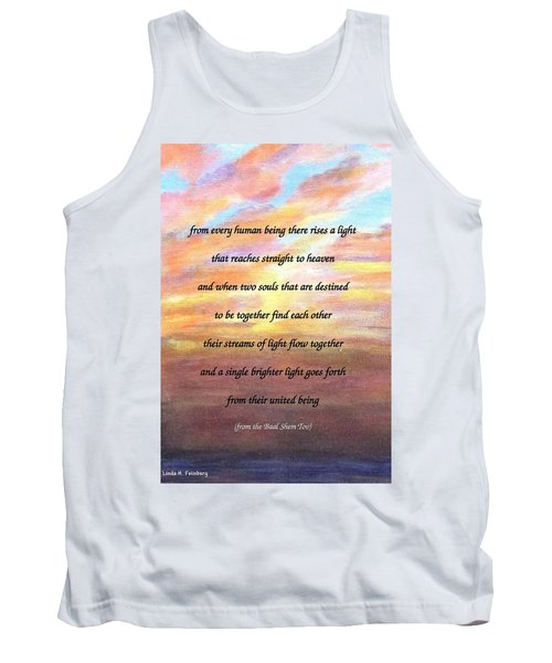 Two Souls Destined To Be Together Tank Top
