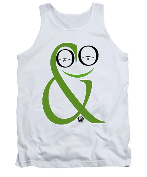 Typographical Frog Tank Top