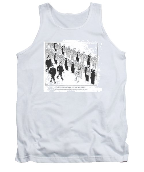 Uncensored Glimpse Of The New Order  Herr Doktor Tank Top