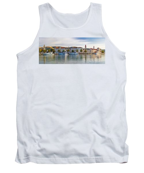 Unesco Town Of Trogit View Tank Top by Brch Photography