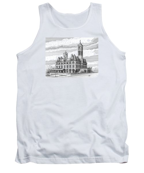 Union Station In Nashville Tn Tank Top by Janet King