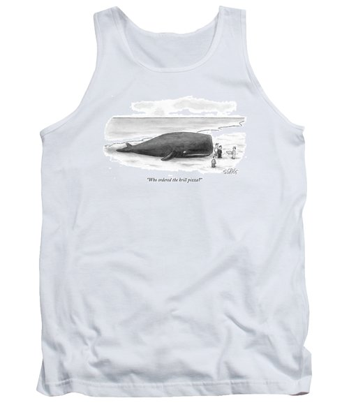 Who Ordered The Krill Pizza? Tank Top