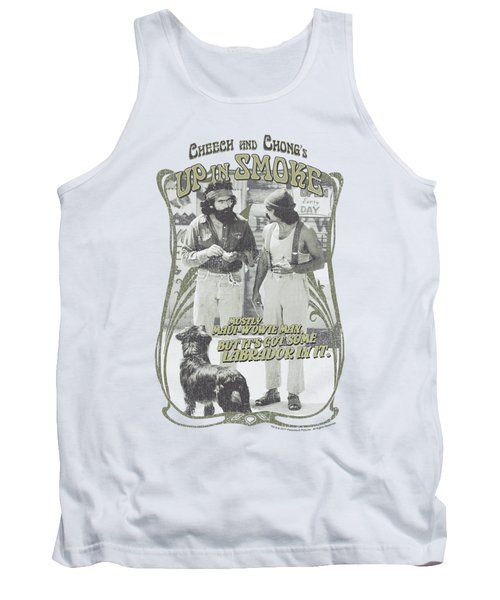 Up In Smoke - Labrador Tank Top