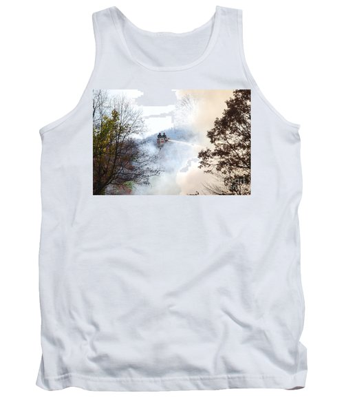 Up In Smoke Tank Top by Eric Liller