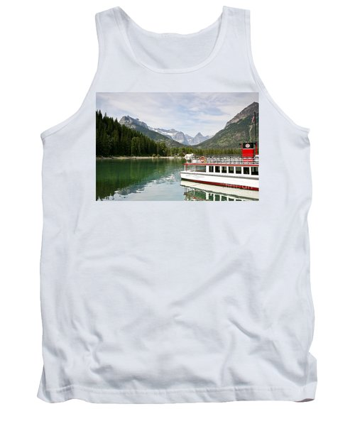 Tank Top featuring the photograph Upper Waterton Lakes by Teresa Zieba