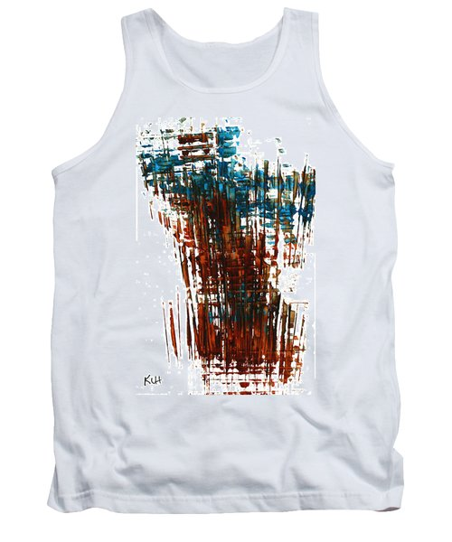 Tank Top featuring the painting Us In The Divine 264.111011 by Kris Haas