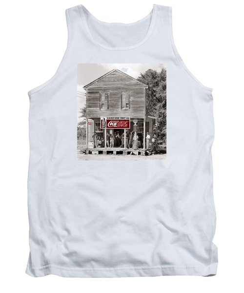 U.s. Post Office General Store Coca-cola Signs Sprott  Alabama Walker Evans Photo C.1935-2014. Tank Top