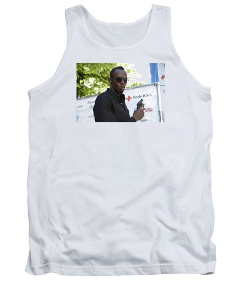 Usain Bolt - The Legend 4 Tank Top by Teo SITCHET-KANDA