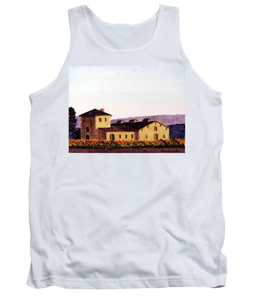 V. Sattui Winery Tank Top by Mike Robles