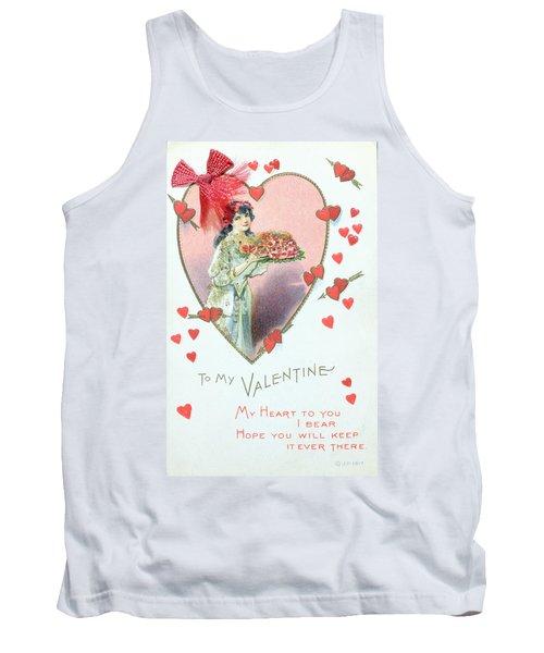 Valentine Card Tank Top