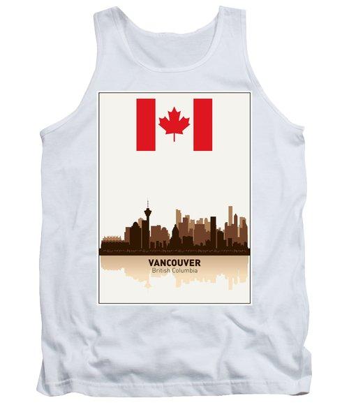 Vancouver British Columbia Canada Tank Top