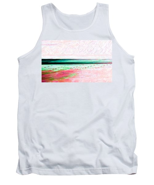 Tank Top featuring the photograph Variations On An Abstract Theme by Chris Anderson