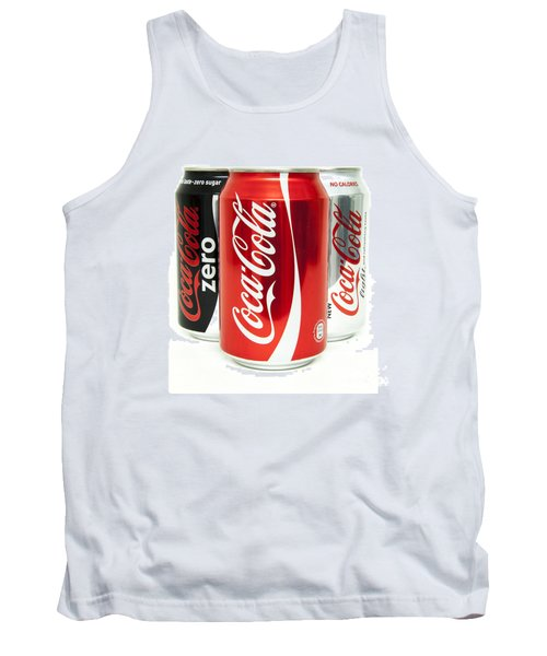 Various Coke Cola Cans Tank Top